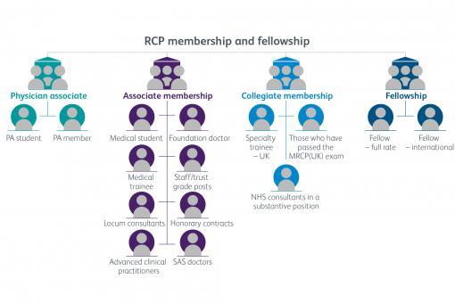 RCP membership categories
