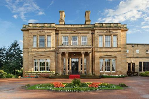 Oulton Hall front view