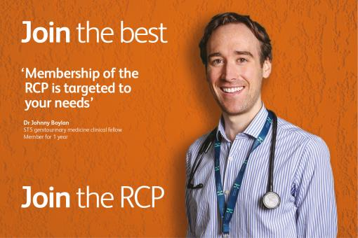 Quote from a member of the RCP: 'Membership of the RCP is targeted to your needs'