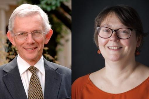 Image of Professor Ian Gilmore and Dr Ruth Alcolado