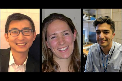 Dr Zenas Yiu, Dr Charlotte Boughton and Dr Amit Sud