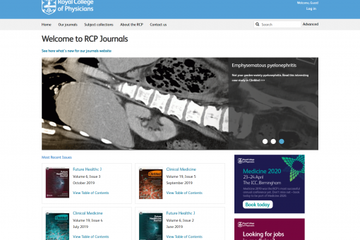 Journals website image