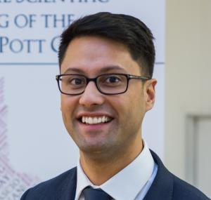 Head and shoulder picture of Kalpesh Vaghela smiling