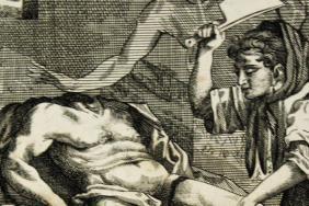 Mary Aubrey murdering her husband