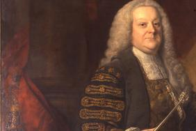 Sir William Browne (1692–1774). Oil on canvas by Thomas Hudson, 1767