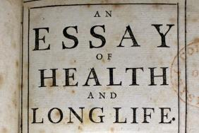 Physician George Cheynes An essay on health and long life