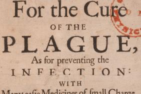 Title page of the College of Physicians advice on plague, 1665