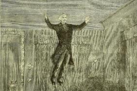 Douglad Home levitating