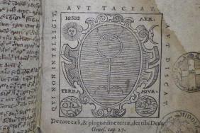 Monas hieroglyphica. John Dee, published Frankfurt, 1591