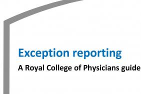 Front cover of exception reporting guide