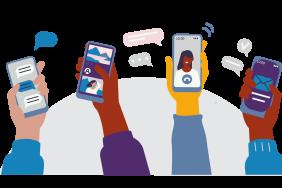 Phones graphic