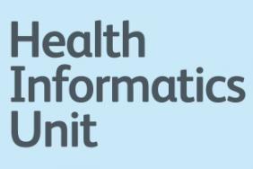 Logo of the Health Informatics Unit