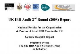 IBD organisational audit - Adult report - round two 2009
