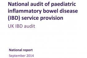 IBD organisational audit - Paediatric report - round four 2014