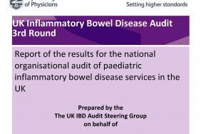 IBD organisational audit - Paediatric report - round three 2011