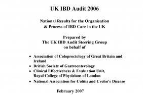 IBD organisational audit - round one 2007