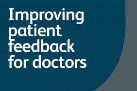 'Improving patient feedback for doctors' - report front cover