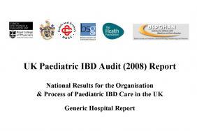IBD inpatient care audit - Paediatric report - round two 2008