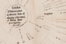 Horoscope of Johannes containing collection of astrological lore. Unknown author, 1538