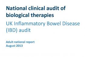 National clinical audit of biological therapies - Adult report - August 2013