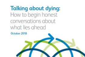 'Talking about dying' report front cover