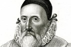 John Dee. Engraved portrait by R Cooper, c1800.