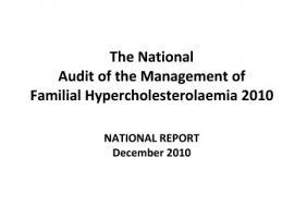 Familial hypercholesterolaemia audit