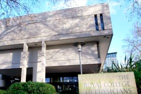 Front of the RCP building in London