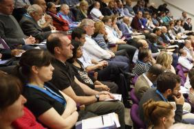 Lecture theatre of delegates