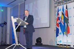 RCP Head of International Affairs Steve Crump at the project launch in Nairobi