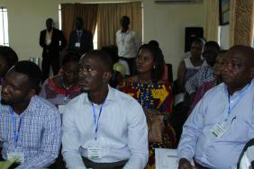Participants at the Freetown course