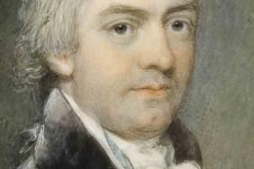 Robert Willan (1757–1812). Watercolour on ivory, probably by Joseph Robinson, 1808