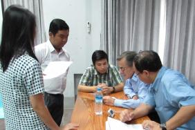PACES training takes place in Yangon, Myanmar