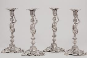Dr William Wasey's silver candlesticks