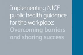 Implementing NICE public health guidance for the workplace: overcoming barriers and sharing success 2012