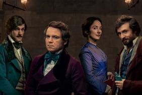 Photograph of the cast of the BBC programme 'Quacks'
