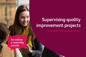 Supervising quality improvement projects: a guide for supervisors – course graphic