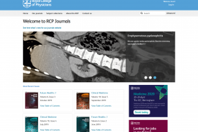 Journals website image